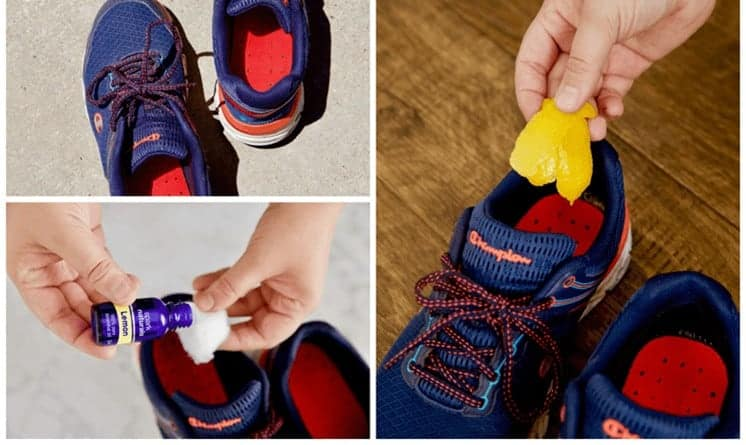 schoenen in vriezer