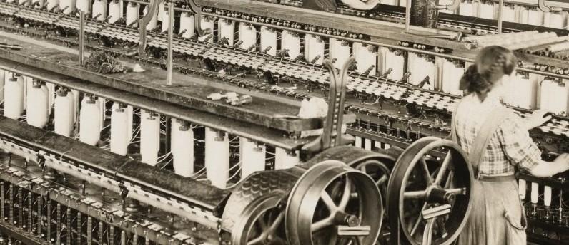 afbeelding van de industriele revolutie van vroeger