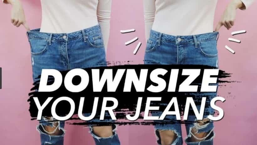 Spijkerbroek of jeans kleiner maken