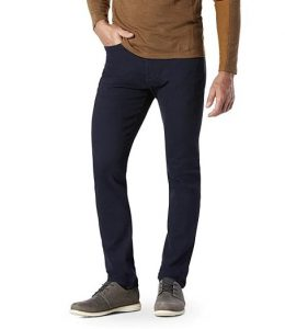 5 zakken broek voorbeeld mannen donkerblauw