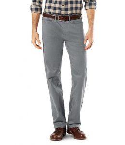 5 zakken broek voorbeeld mannen grijs