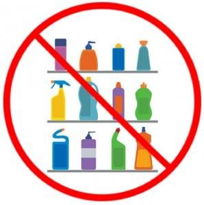 Bijna geen schoonmaakmiddel nodig