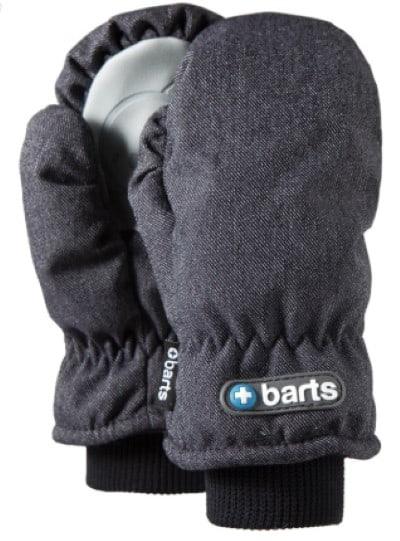 Denim kinderhandschoenen met thermo isolatie en waterafstotend