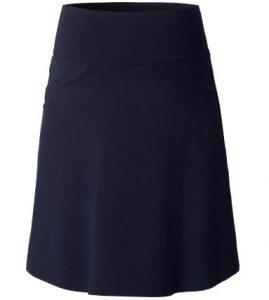 Zwangerschaps rok in donkerblauw