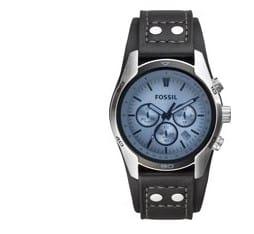 Fossil CH2564 - Horloge - Zwart - 44 mm