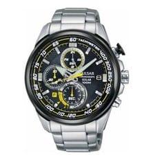 Beste horloges onder 200 euro Heren- Pulsar Pulsar solar PZ6003X1 - Horloge - Staal - 45 mm