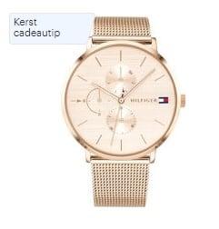 Beste horloges onder 200 euro - Tommy Hilfiger TH1781944 Horloge - Staal - Rosékleurig