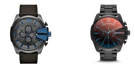 Heren-Beste horloges onder 200 euro - Diesel Mega Chief Herenhorloge DZ4318