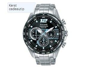 Heren-Beste horloges onder 200 euro - Pulsar PZ5031X1 - Horloge - Heren - Zilverkleurig
