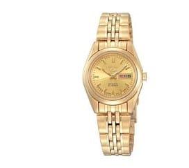 Seiko SYMA38K1 horloge - goudkleur