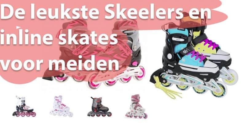 Skeelers voor meiden, de leukste inline skates - uitgelichte afbeelding