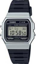 Top 5 horloges onder 50 euro -CASIO F-91WM-7AEF Horloge - Kunststof - Zwart